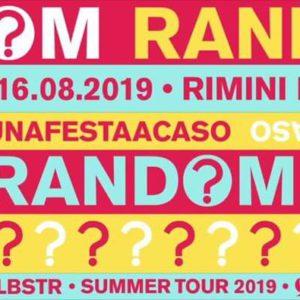 RANDOM arriva sulla spiaggia del Rimini Beach Arena!