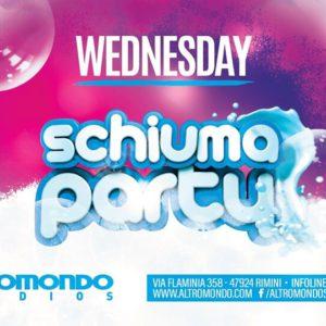 Mercoledì si balla all'Altromondo Studios sotto la Schiuma!