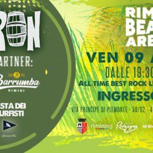 Buliron Rock Party in arrive al Rimini Beach Arena