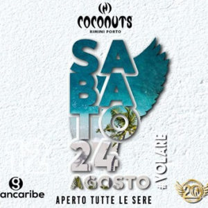 Sabato latino al Coconuts Rimini con il Grancaribe