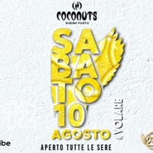 L'anima Latina del Grancaribe accende il nuovo sabato del Coconuts Rimini