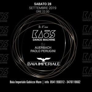 Alla Baia Imperiale arriva il remember Kaos Dance