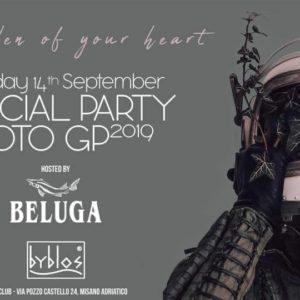 MotoGp Official Party al Byblos Riccione