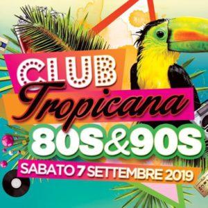 Sabato tropicana al Classic Club con Janina Stars