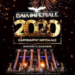 Capodanno imperiale 2020 alla Baia Imperiale.