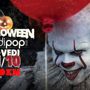 La paura si fa Bradipop Rimini. Festa di Halloween rock.