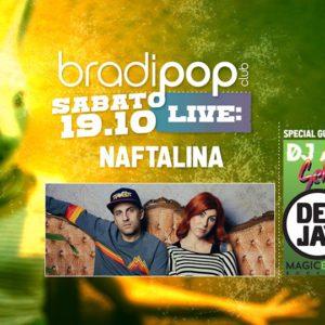 Sabato pop al Bradipop Rimini con Naftalina e Aladyn.