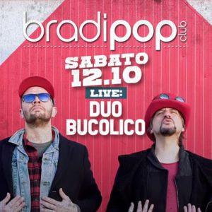 Il Duo Bucolino si scatena sul palco del Bradipop Rimini.