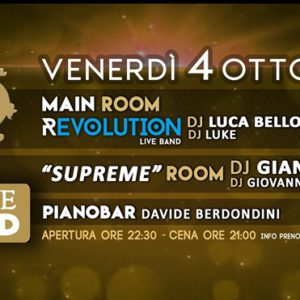Venerdì Revolution al Mon Amour Rimini