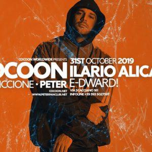 Halloween Techno al Peter Pan Riccione con Ilario Alicante