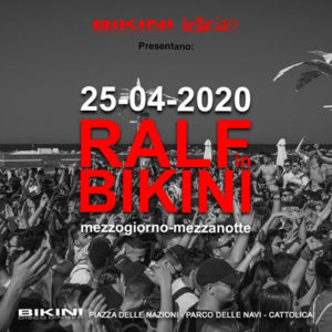 Ralf in Bikini 2020. Arriva la prima prova dell'estate.