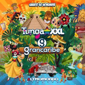 Il TUNGA XXL e il Grandcaribe uniscono al nuovo sabato dell'Altromondo Studios.