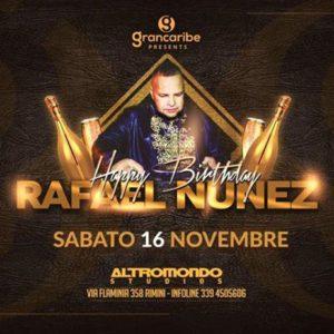 Happy Birthday Rafael Nunez! Vieni all'Altromondo Studios anche tu per il suo compleanno.