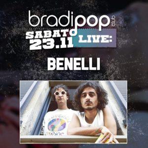 Sabato rock al Bradipop Riccione con Benelli.