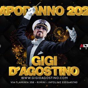 Capodanno Altromondo 2020 con Gigi d'Agostino. Il più esplosivo della Riviera!