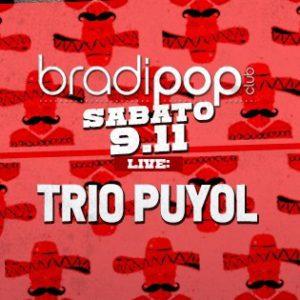 Nuovo sabato live al Bradipop Rimini con il Trio Puyol