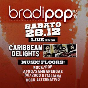 Nuovo concerto rock al Bradipop Rimini con i Caribbean Delights