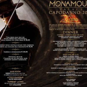Monamour Rimini presenta Capodanno 2020