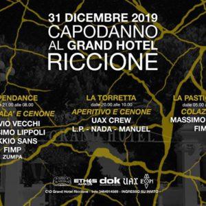 Capodanno 2020 Techno al Grand Hotel Riccione