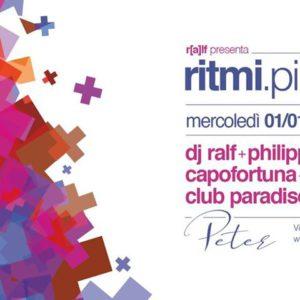 Ritmi e dj Ralf inaugurano il nuovo anno al Peter Pan Riccione