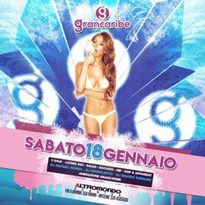 All'Altromondo Studios ci si scatena con il Grancaribe party Reggaeton.