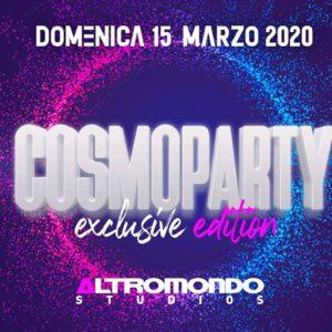Cosmoparty 2020 all'Altromondo Studios