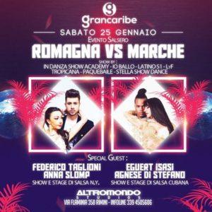 Romagna Vs Marche, chi vincerà? Vieni a scoprirlo nel nuovo sabato targato Altromondo Grancaribe.