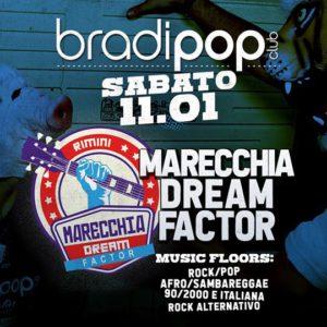 Al Bradipop Rimini è tempo di rock con i Marecchia Dream Factor.