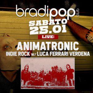Gli animatronic animano il nuovo sabato rock del Bradipop Rimini.