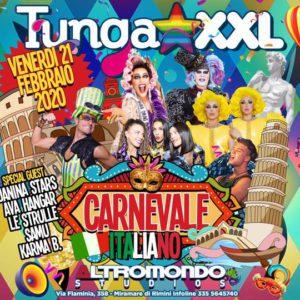 Sei pronto per il Carnevale Italiano del TUNGA XXL? In arrivo all'Altromondo Studios.