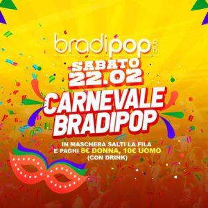 Carnevale Bradipop.