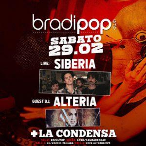 Sabato rock al Bradipop Rimini con i Siberia.