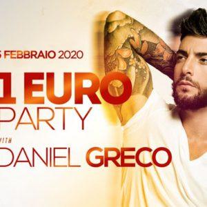 Sabato si torna a ballare al Classic Club con 1 euro party.