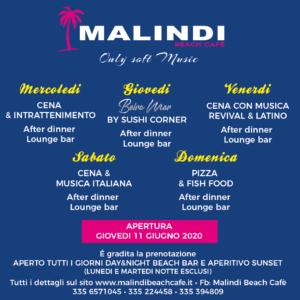 Serata Latina e revival al Malindi Cattolica