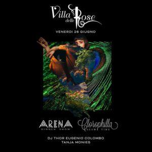 Un nuovo venerdì spettacolare alla Villa delle Rose