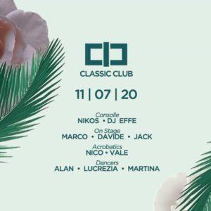 Sabato underground al Classic Club