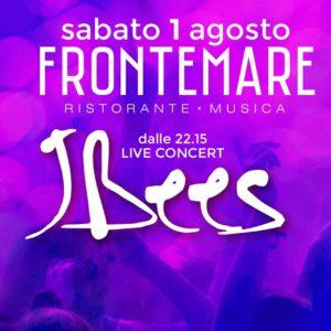I Jbees in concerto live al Frontemare Rimini