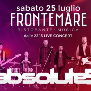 Gli Absolue5 in concerto al Frontemare Rimini
