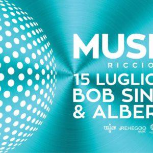 Opening Musica Club Riccione con Bob Sinclair e Albertino