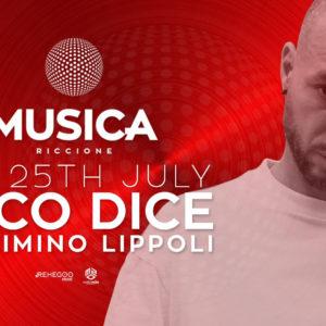 L'icona della Techno Loco Dice protagonista del nuovo sabato Musica Club Riccione