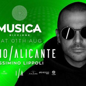 Sabato techno al Musica Riccione con Ilario Alicante e Massimino Lippoli