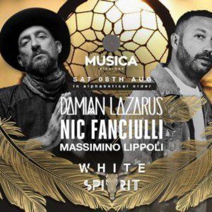 Sabato esplosivo al Musica Club con Damian Lazarus e Nic Fanciulli
