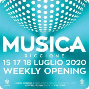 Nuova serata al Musica Club Riccione