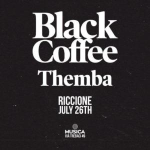Black Coffee anima la domenica notte del Musica Club Riccione