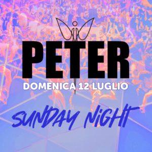 Domenica di nuovo a ballare al Peter Pan Riccione con Sunday Night