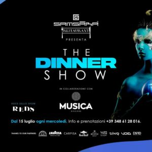 Samsara Riccione e Musica Club presentano The Dinner Show