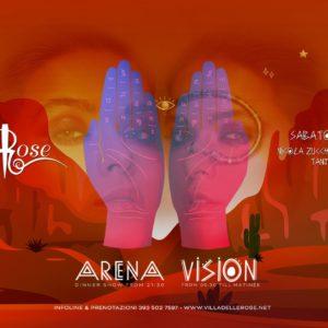 Sabato Vision alla Villa delle Rose