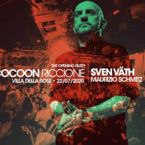 Sven Vath apre le danze del Cocoon alla Villa delle Rose