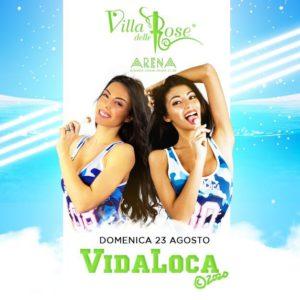 Il Vida Loca anima il fine settimana della Villa delle Rose con la sua anima caliente
