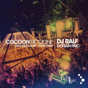 Dj Ralf si scatena al mercoledì Cocoon della Villa delle Rose